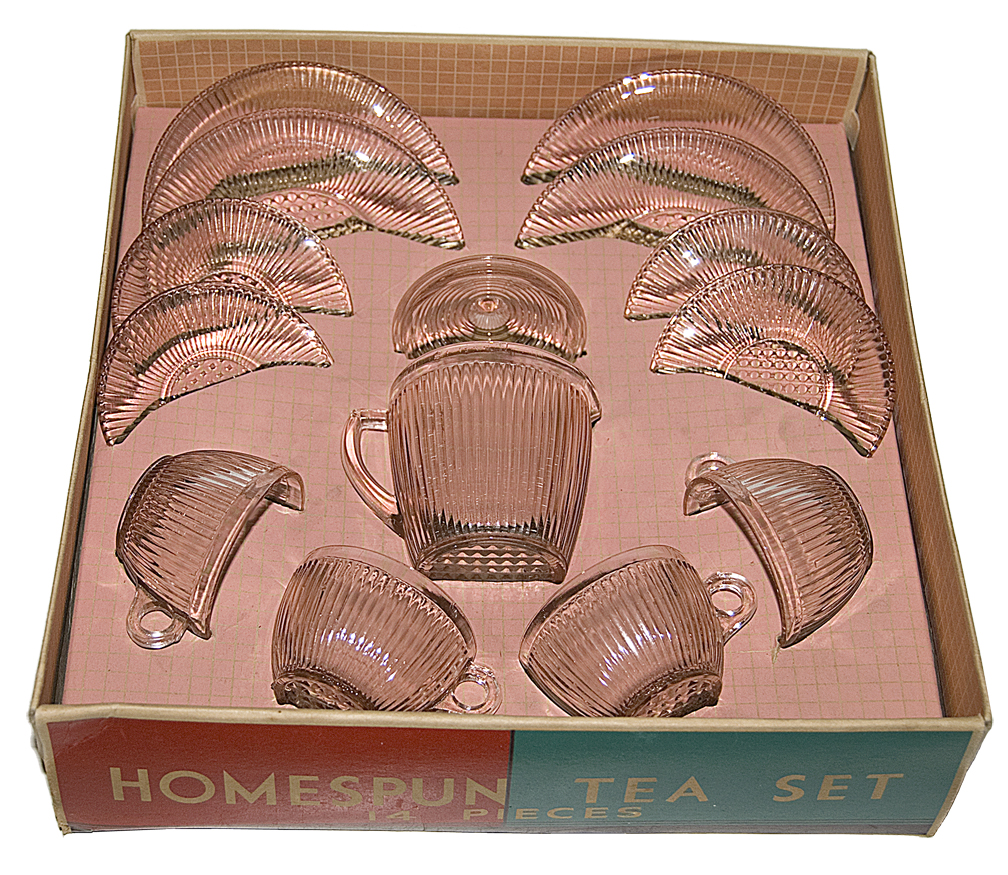 Jeannette Homespun Childs Set