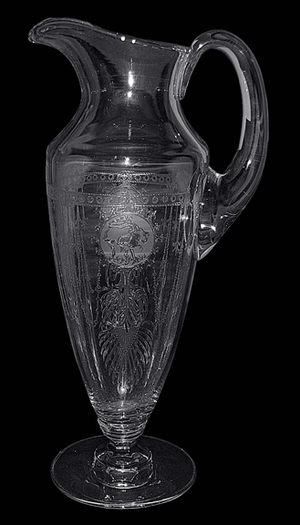 Heisey Pied Piper Pitcher / Jug