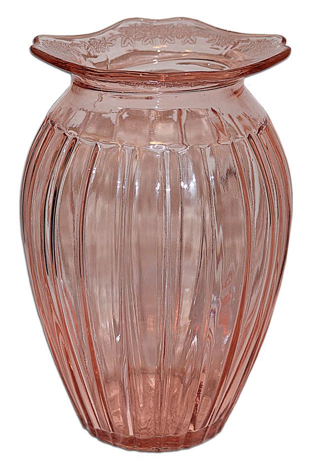 Jeannette Adam Pink Adam Vase