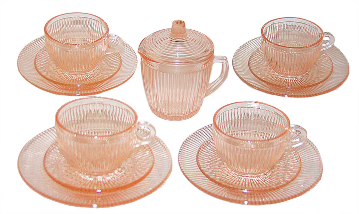 Jeannette Child's Homespun Set