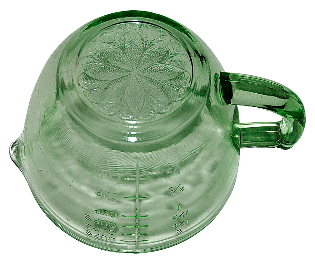 Jeannette Green Sunflower Reamer Bottom