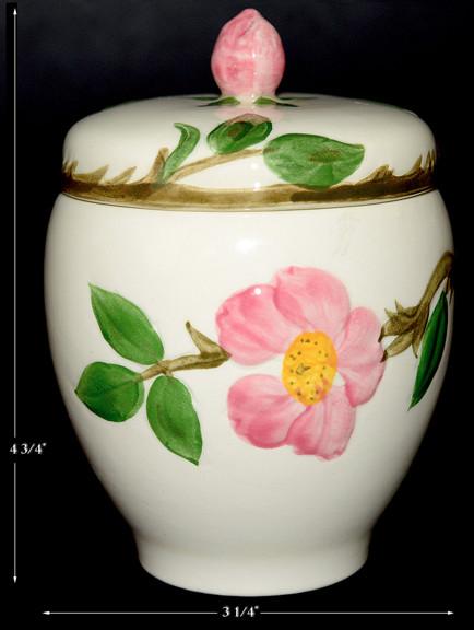 Desert Rose Potpourri Jar