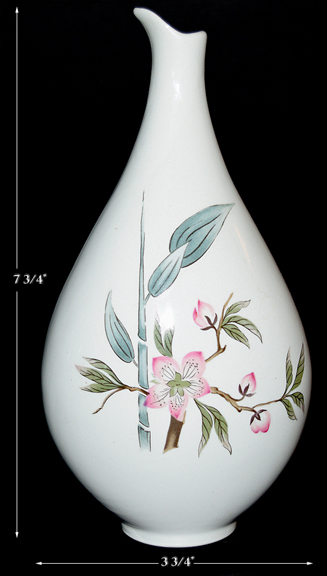 Hall Peach Blossom Bud Vase