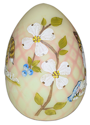 Marylin Wagner Blown Egg with Kitty Side