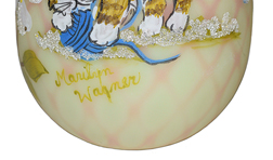 Marylin Wagner Blown Egg Signature