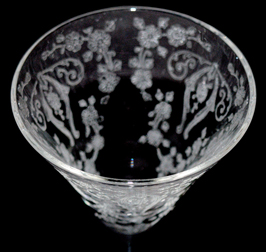 Cambridge Diane Cone Shaped Sherry Top