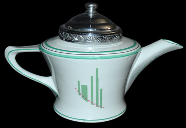 Frauenfelter Deco Teapot - The Back