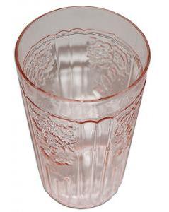 Hocking Pink Mayfair Flat Ice Tea Tumbler LD