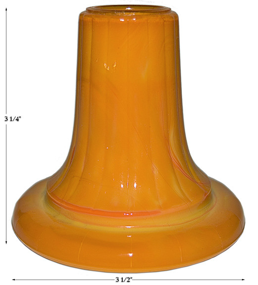 Akro Pumpkin Candlestick