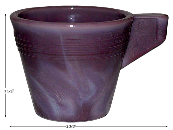 Alley Agate Child's Chiquita HTF Purple Cup
