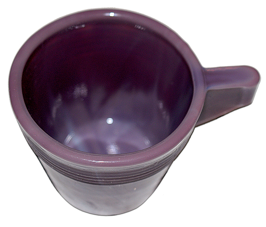 Alley Agate Child's Chiquita HTF Purple Cup The Top