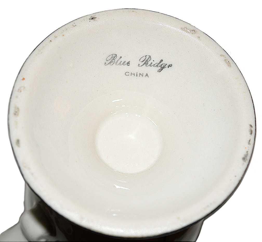 Blue Ridge Midnight Chocolate Pot Mark