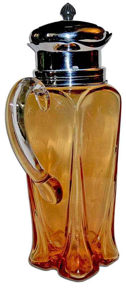 Cambridge 3400/158 Cocktail Shaker with Handle The Back