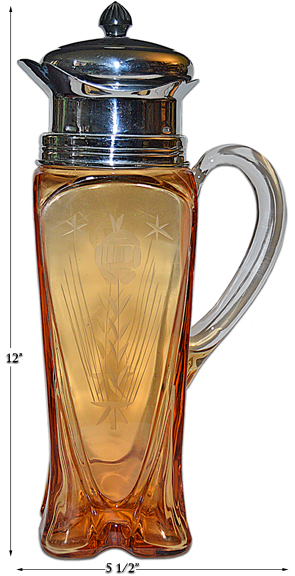 Cambridge 3400/158 Cocktail Shaker with Handle