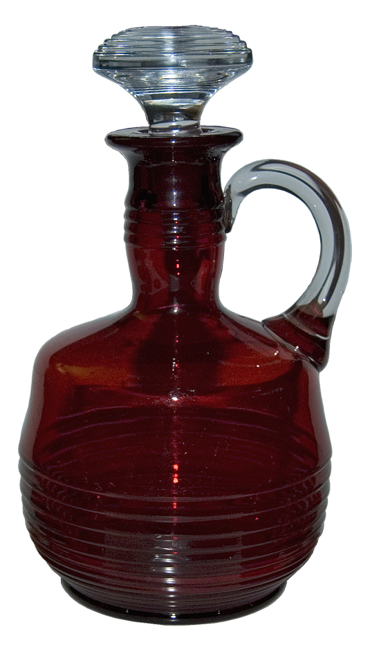 Tally Ho Decanter Ruby