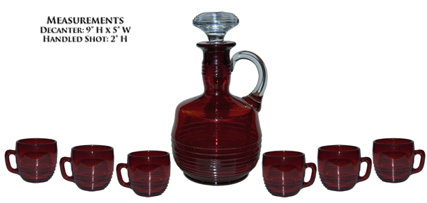 Tally Ho Decanter Set