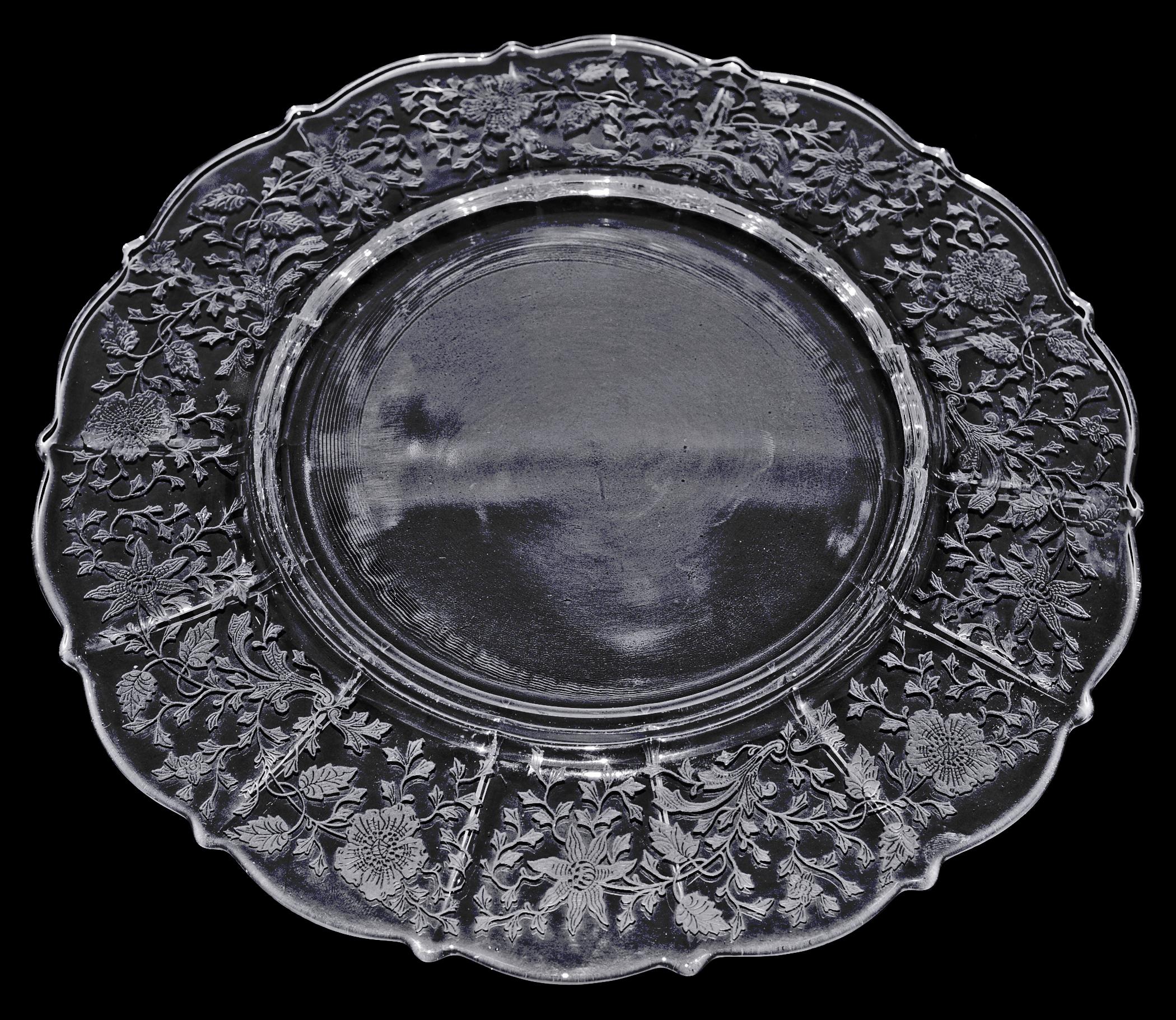 Cambridge Wildflower Dinner Plate Back