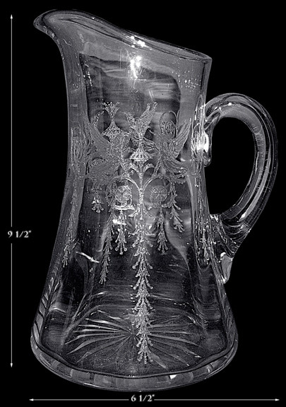 Central Crystal Harding Jug / Pitcher