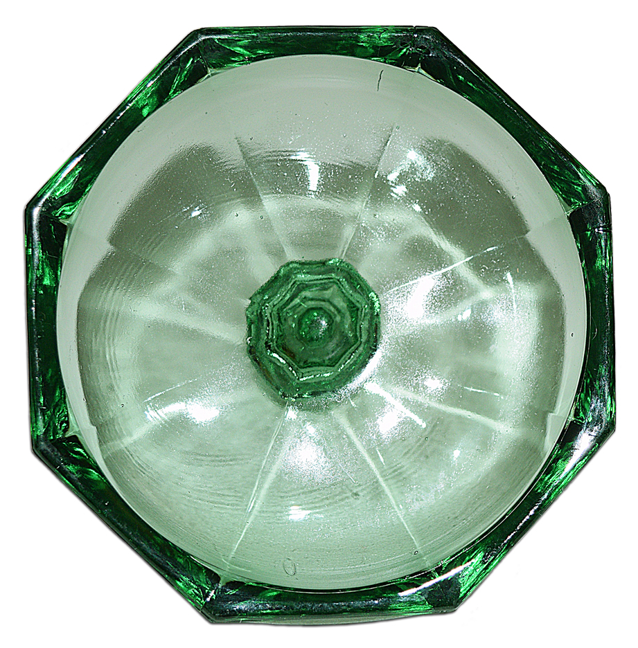 CoOperative Flint Green 580 Candy Dish Lid