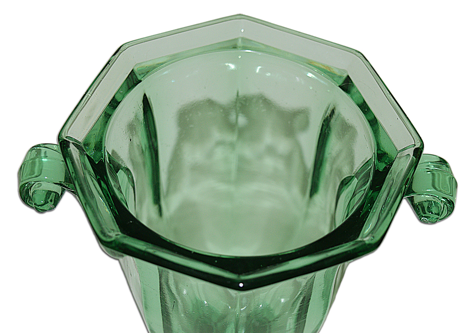 CoOperative Flint Green 580 Candy Dish Bottom