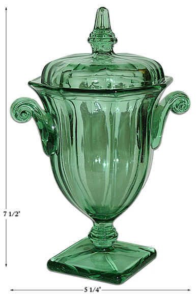 CoOperative Flint Green 580 Candy Dish