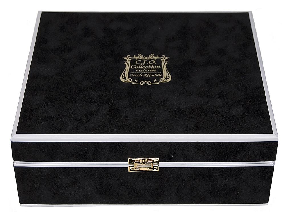 Czechoslovakain Alexandrite Nude Perfume Bottle Box