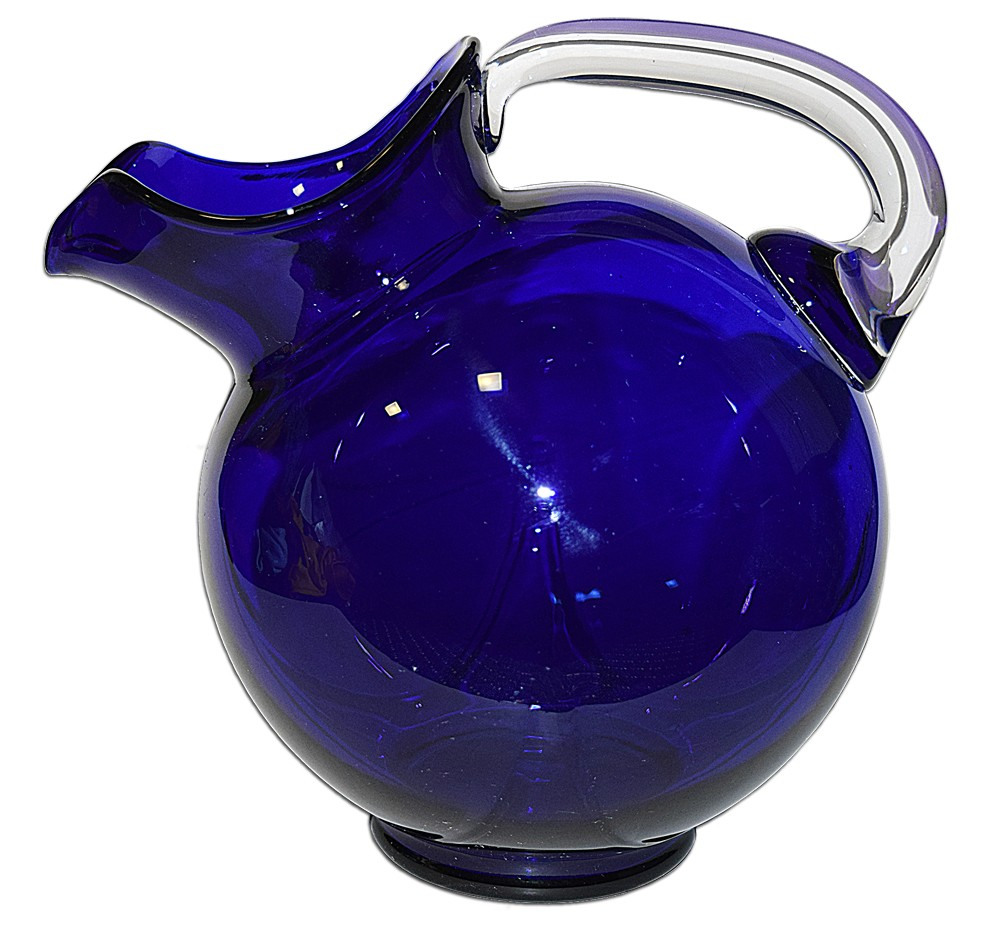 Cambridge Royal Blue (Cobalt) #3400/38 - 80 oz. Ball Jug BEAUTIFUL DONE