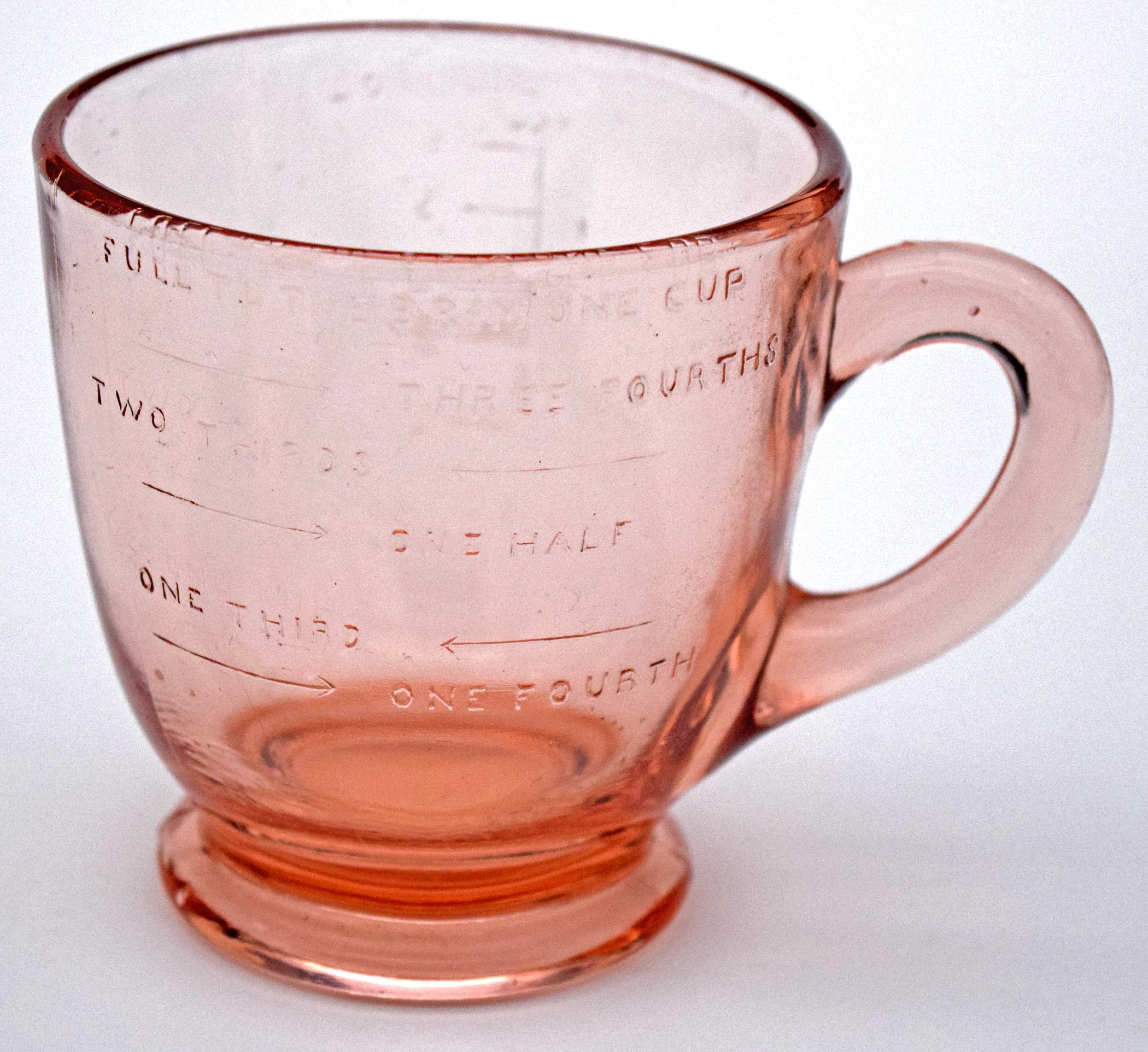 Cambridge Pink One Cup Measuring Cup - RARE