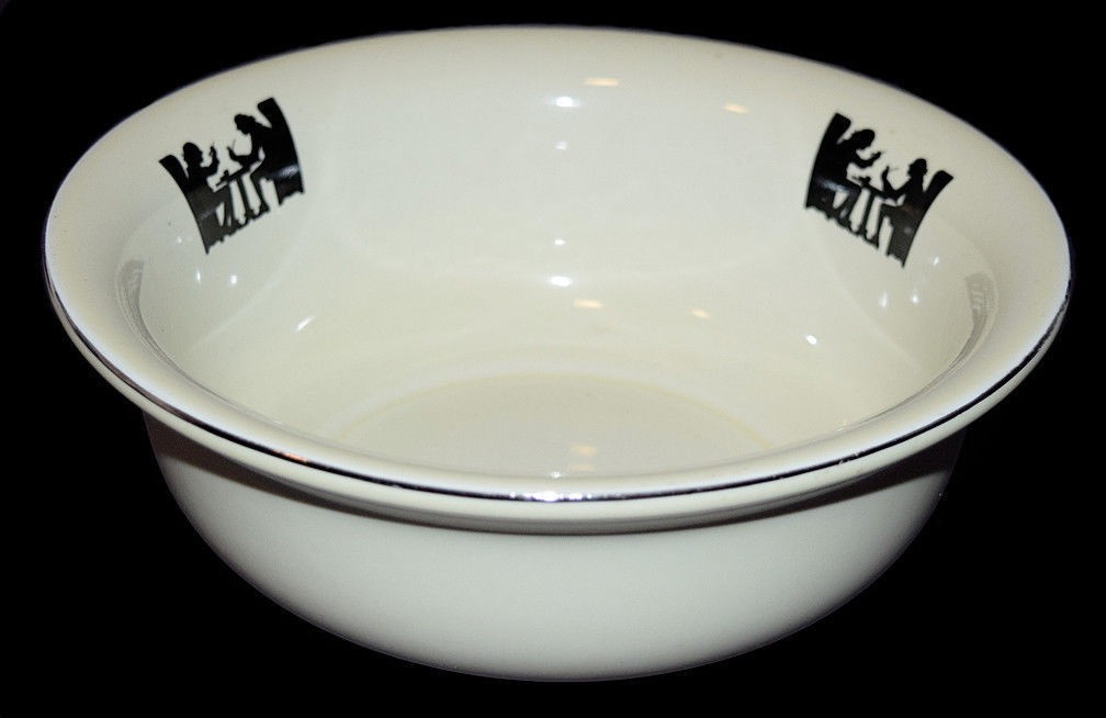 """Hall China Silhouette 8"""" Flared Bowl"""