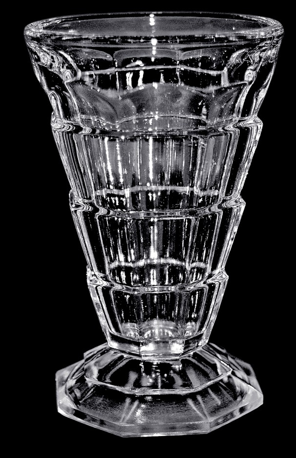 Indiana Tea Room Crystal Footed Juice Tumbler