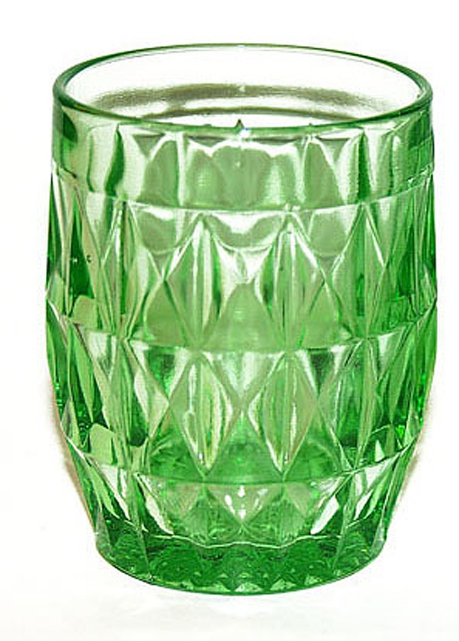 Jeannette Windsor Green Water Tumbler