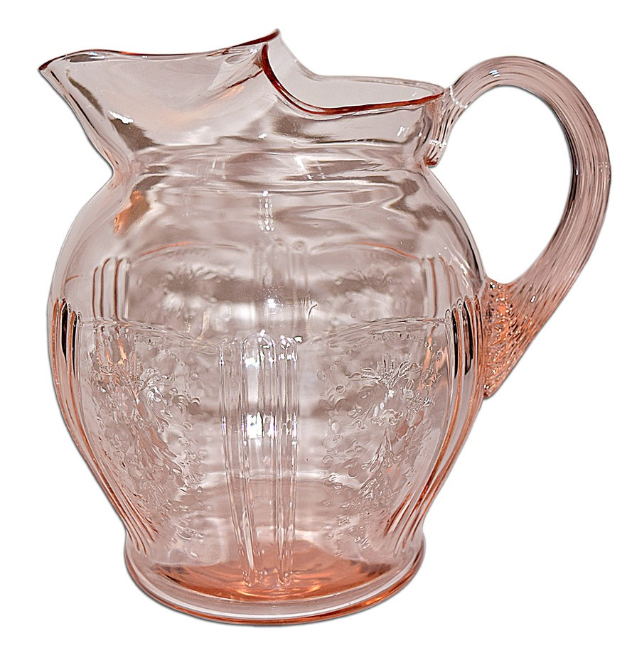 MacBeth Evans American Sweetheart Pink Large Pitcher / Jug