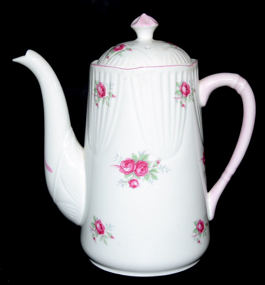 Royal York Sweetheart Rose / Shelley Rosebud Style Demitasse Coffee Pot