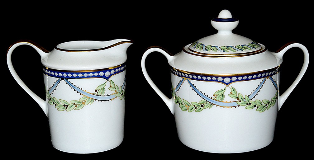 Federal BY TIFFANY Sugar and Creamer AWESOME CONDITION - PRISTINE