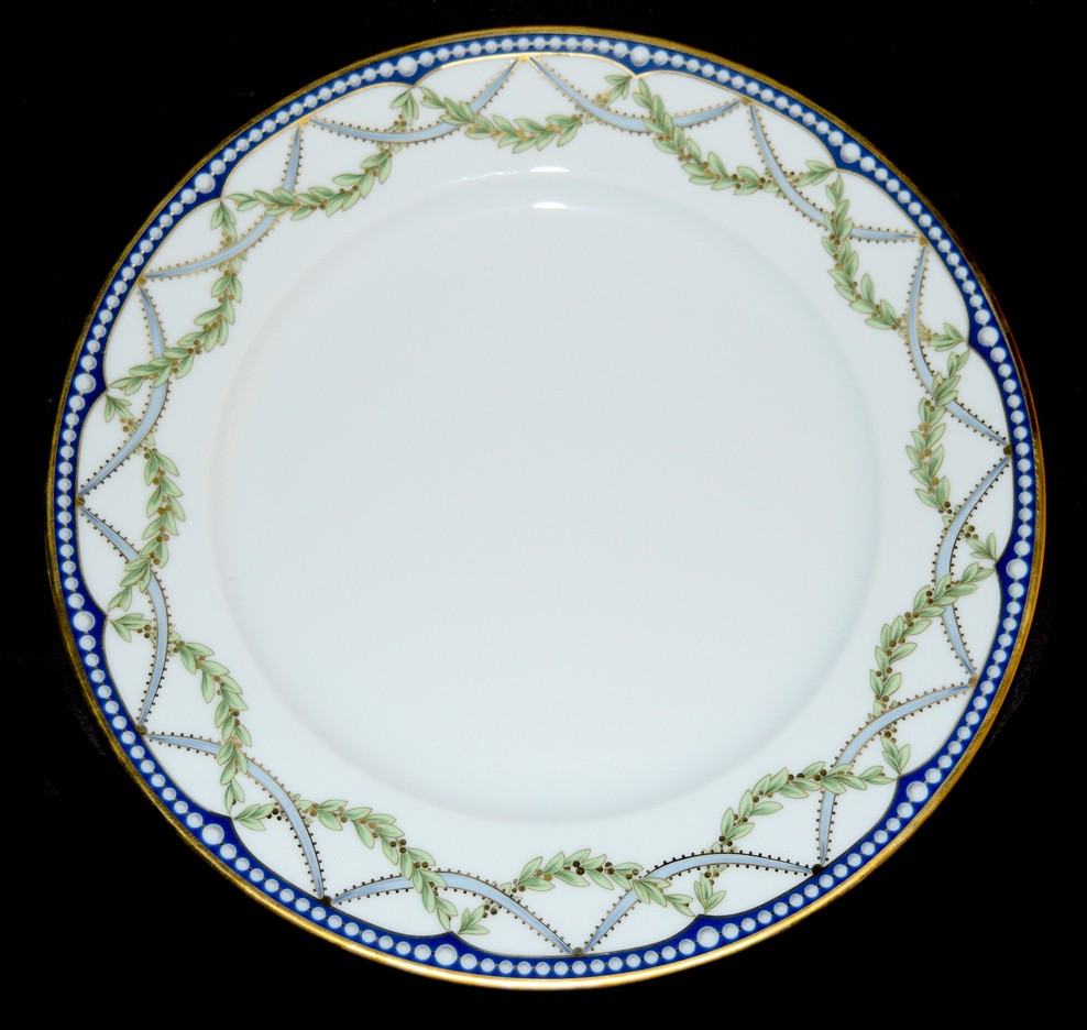 Federal BY TIFFANY Dinner Plate PRISTINE!