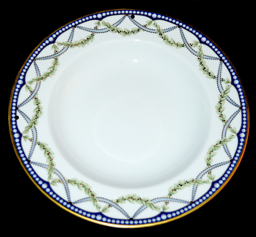 Federal BY TIFFANY Rimmed Flat Soup Bowl