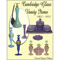 Cambridge Glass Vanity Items 1903 - 1955 - PAPER BACK BOOK