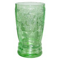 Federal Green Georgian 12 oz. Ice Tea Tumbler - Hard to Find