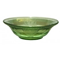 "Federal Georgian Green Lovebirds 6"" Cereal Bowl"