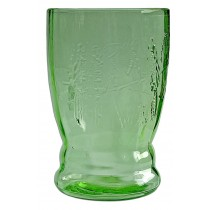 Federal Parrot Green Flat 9 Ounce Tumbler - SCARCE