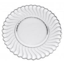 "Fostoria Colony Crystal 9 1/4""  Dinner Plate"