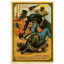 Great American Tea Company A Brandy Smash Trade Card
