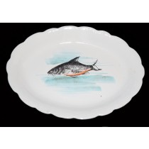 Hall China Early 1900s Oval Fish Platter