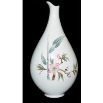 Hall China Peach Blossom Eva Zeisel Deco Mid Century Modern Vinegar Bottle