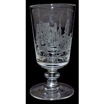 Heisey Tally Ho #4002 - 4oz. Cocktail Glass / Goblet