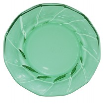 "Heisey Moongleam Twist 4"" Plate / Coaster"