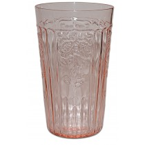 Hocking Mayfair Pink 5 1/4 Inch Flat Ice Tea Tumbler
