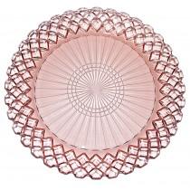 Hocking Waterford Pink Depression Dinner Plate