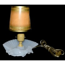 Houze Glass DECO Moonstone Semi-Nude Lady Lamp