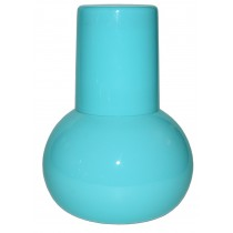 Morgantown Opaque Baby Blue Milk Glass #23 Margaret Guest Set / Tumble Up